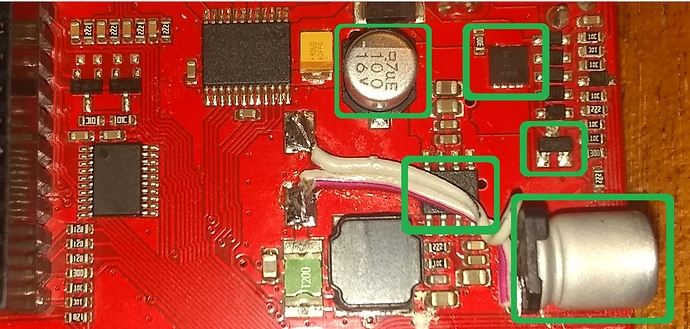Check these additional components for heating