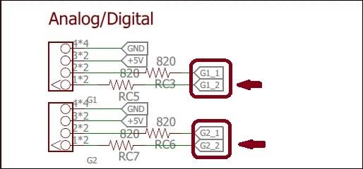GoPiGo-3 AD connectors