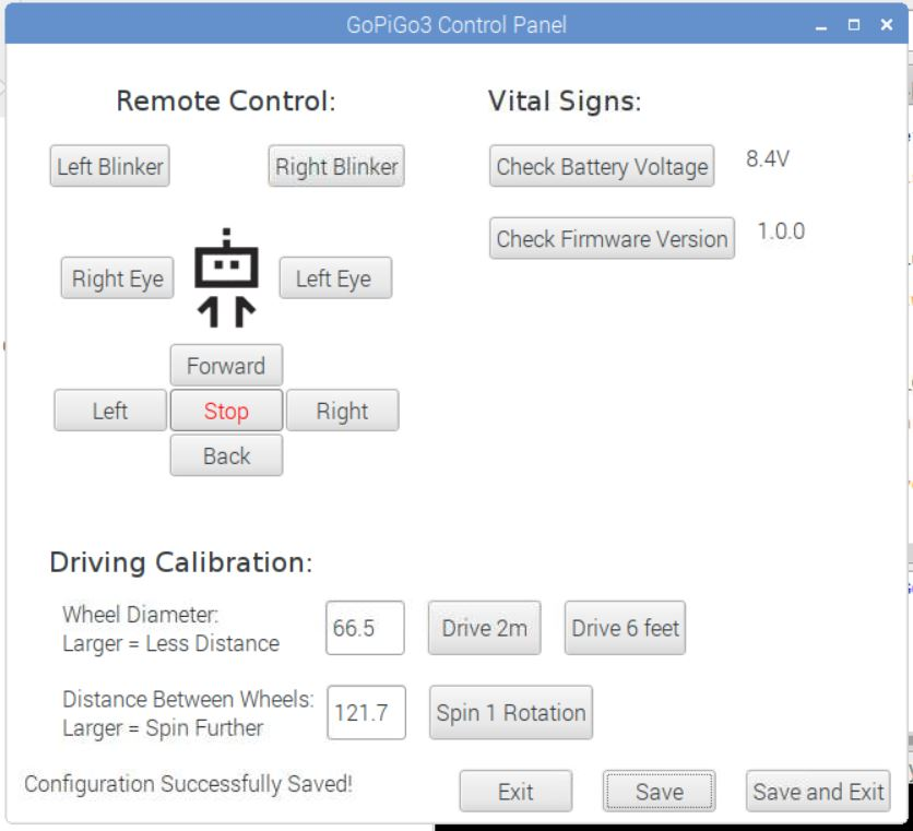 Revised Control Panel Saved